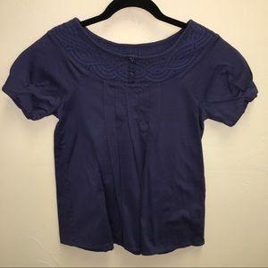 Anthropologie - Deletta - 100% cotton blouse SZ XS